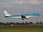 PH-EXF KLM Cityhopper Embraer ERJ-190STD (ERJ-190-100) landing at Schiphol (EHAM-AMS) runway 18R pic3.JPG