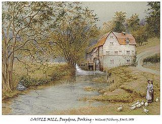 Wilmot Pilsbury English painter