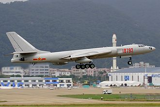 Xian H-6 - H-6 at the Zhuhai Air Show (2008)