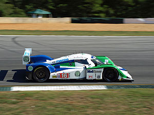 Dyson Racing - The team's Lola Mazda at 2011 Petit Le Mans.
