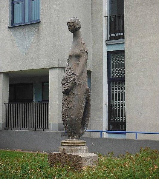 Statue de la sirène par Jerzy Chojnacki