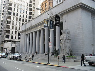 Financial District, San Francisco - The former Pacific Stock Exchange on Pine Street in the Financial District.