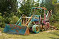 Painted backhoe loader, Bahamas.jpg
