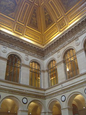 Paris Bourse - Palais Brongniart: interior