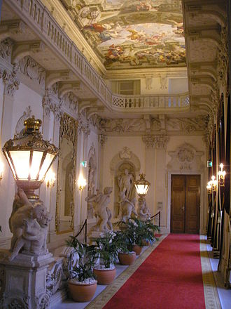 Austrian nobility - During the baroque era, the nobility started to move into the cities and built themselves lavish residences called Palais. The Palais Kinsky in Vienna, belonging to the princely Kinsky family, is one of the most outstanding pieces.
