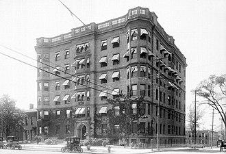 Palms Apartments - Palms Apartments, c. 1902