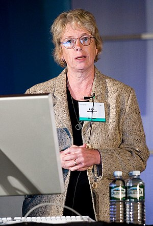 Pamela Samuelson - Pam Samuelson at the 2005 Where 2.0 Conference