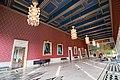 Panoramic of one of the rooms inside Oslo City Hall (Oslo rådhus) (29796476041).jpg