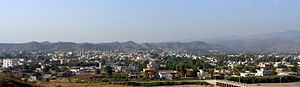 Bhimber - Panoramic view of Bhimber