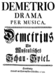 Paolo Scalabrini - Demetrio - german titlepage of the libretto - Hamburg 1744.png