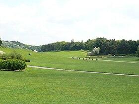 Parc georges valbon wikip dia for Tarif horaire entretien espace vert