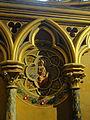 Paris (75), Sainte-Chapelle, chapelle basse, 2e travée côté sud, médaillon.JPG