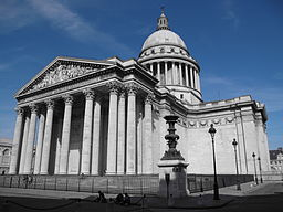 Paris Pantheon Outside