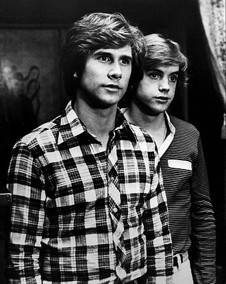 Parker Stevenson - Stevenson (left) with Shaun Cassidy as The Hardy Boys