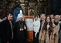 Participation of the President of Ukraine in the festive Christmas liturgy in Saint Sophia, Kiev 2.jpeg