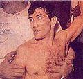 Pascual Perez - Tapa El Grafico al salir campeón mundial 1954.jpg