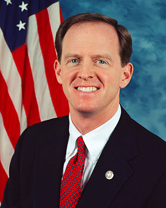 Pat Toomey - Congressman Toomey's Official Portrait.