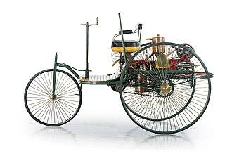 Benz Patent-Motorwagen - Patent-Motorwagen Benz Nr. 2