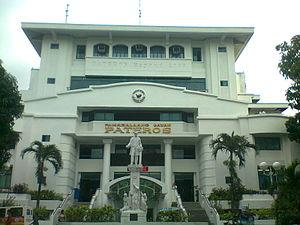 Pateros, Metro Manila - Image: Pateros Municipal Hall (November 2013)