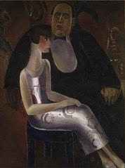 Paul Gustave Van Hecke en zijn vrouw Norine De Schrijver