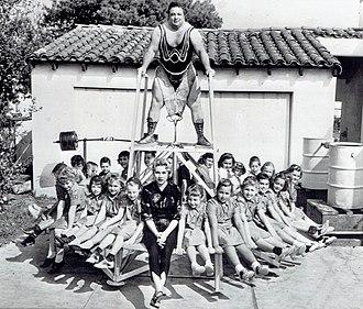 Paul Anderson (weightlifter) - Paul Anderson, 1957