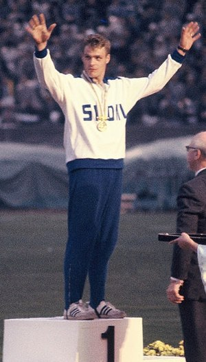 Pauli Nevala - Pauli Nevala at the 1964 Olympics