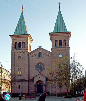 1887 in architecture - St Paul's Church, Aarhus