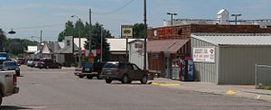 Paxton, Nebraska - Downtown Paxton