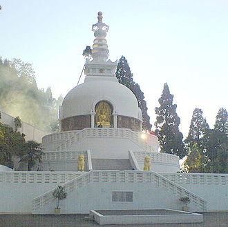 Peace Pagoda - Japanese Peace Pagoda in Darjeeling