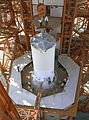 Pegasus-1 satellite is installed on top of a Saturn I rocket.jpg