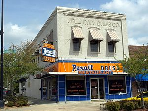 Pell City, Alabama - Pell City Drug Company April 2014