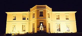 Sellack - Image: Pengethley Manor Hotel at Night