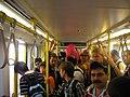 Peregrinos tranvía XMX2005.JPG
