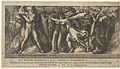 Perseus changing Atlas into a mountan with the head of Medusa, from Perseus and the Golden Apples MET DP836969.jpg