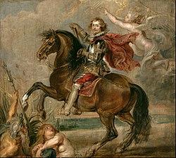 Peter Paul Rubens: Equestrian Portrait of the Duke of Buckingham