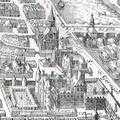 Petit-Bourbon on 1615 map of Paris by Mérian - Gallica 2010.png