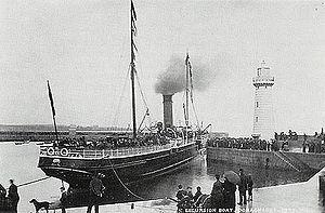 SS Peveril (1884) - RMS Peveril.