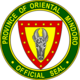 Official seal of Oriental Mindoro