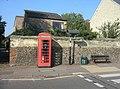 Phone box, zebra crossing - Church Street - geograph.org.uk - 1064316.jpg