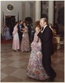 Photograph of President Gerald Ford and First Lady Betty Ford Dancing, Following the Departure of Prime Minister and... - NARA - 186806.tif