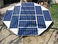 Photovoltaic panel - Musée du Verre et du Vitrail 3.JPG