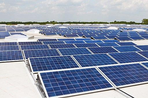 Photovoltaik Dachanlage Hannover - Schwarze Heide - 1 MW