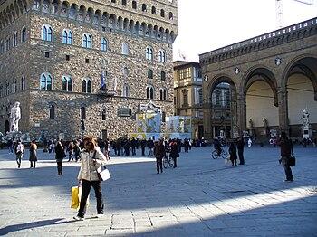 English: Piazza della signoria Florence