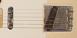Single coil guitar pickup - Two pickups on a Telecaster