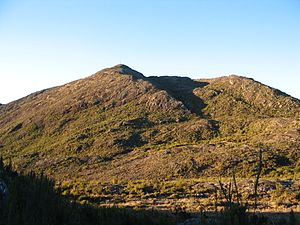 Pico da Bandeira, local em que aconteceu a Guerrilha do Caparaó.