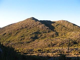 Pico da Bandeira third highest mountain in Brazil, situated near the border of Espírito Santo and Minas Gerais