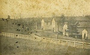 Piedmont, South Carolina - Downtown Piedmont around 1890