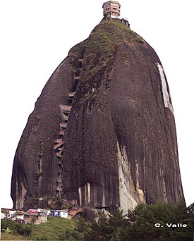 Piedra Del Peñol Wikipedia La Enciclopedia Libre