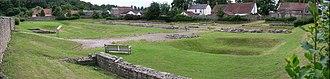 Piercebridge Roman Fort - Image: Piercebridge roman fort