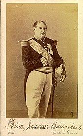 Jérôme Bonaparte in späteren Jahren, Fotografie von Pierre-Louis Pierson (Quelle: Wikimedia)